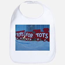 Toys For Tots Train. Bib