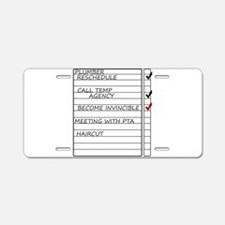 INVINCIBLEGOOD1.jpg Aluminum License Plate
