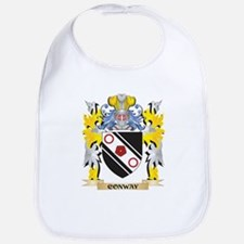 Conway Coat of Arms - Family Crest Baby Bib