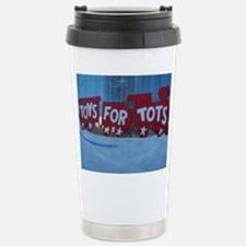 Toys For Tots Train. Travel Mug