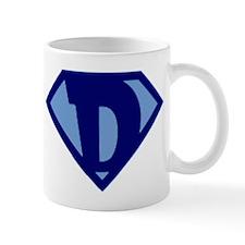 Super Hero Letter D Mug