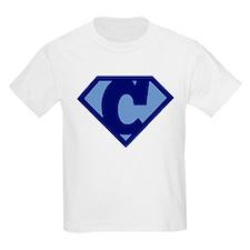 Super Hero Letter C T-Shirt