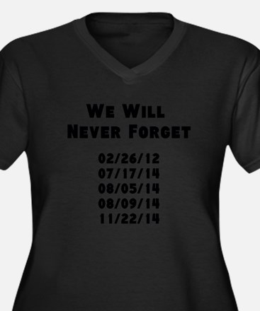 Never Forget Plus Size T-Shirt