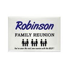 Robinson Family Reunion Rectangle Magnet
