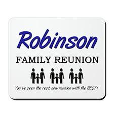 Robinson Family Reunion Mousepad
