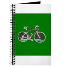 Green Bicycle Cycling Wondrous Bike for Ke Journal
