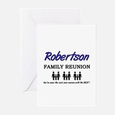 Robertson Family Reunion Greeting Cards (Package o