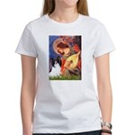 Mandolin Angel & Papillon Women's T-Shirt