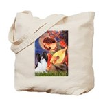 Mandolin Angel & Papillon Tote Bag