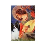 Mandolin Angel & Papillon Rectangle Magnet
