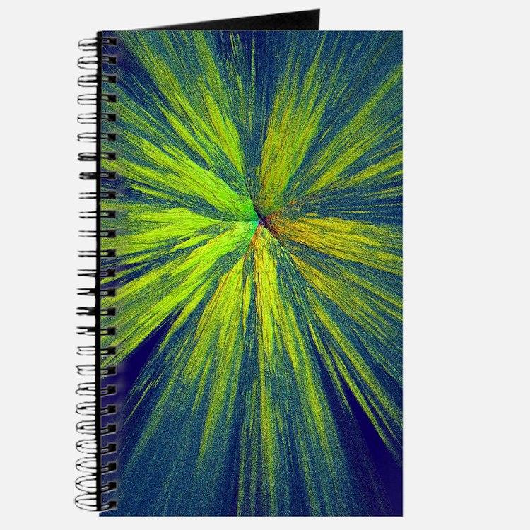 Yellow splash Journal