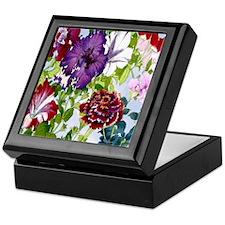 Dazzlin' Petunia Power Keepsake Box