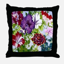 Dazzlin' Petunia Power Throw Pillow