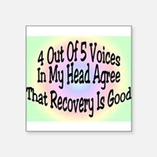 4 Out Of 5 Voices Sticker