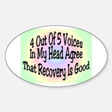 4 Out Of 5 Voices Decal