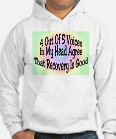 4 Out Of 5 Voices Hoodie