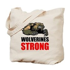 Wolverines Strong Tote Bag