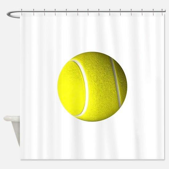 Tennis Ball Shower Curtain