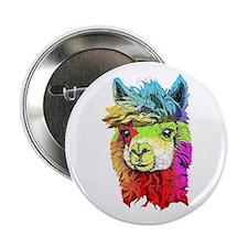 """Unique Alpaca 2.25"""" Button (100 pack)"""