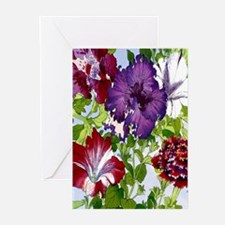 Dazzlin' Petunia Power Greeting Cards