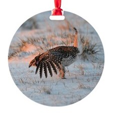 Sharptail Grouse Ornament