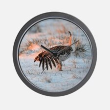 Sharptail Grouse Wall Clock