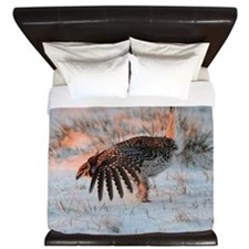 Sharptail Grouse King Duvet