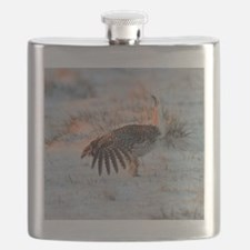 Sharptail Grouse Flask