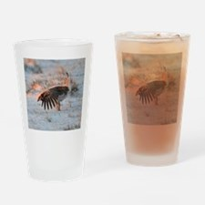Sharptail Grouse Drinking Glass