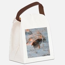 Sharptail Grouse Canvas Lunch Bag