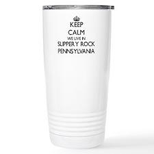Keep calm we live in Sl Travel Mug