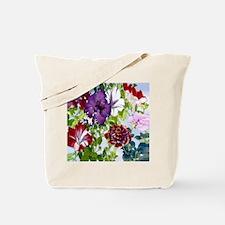 Dazzlin' Petunia Power Tote Bag