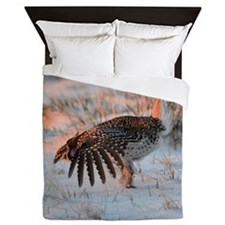 Sharptail Grouse Queen Duvet