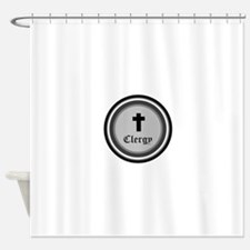 CLERGY Shower Curtain