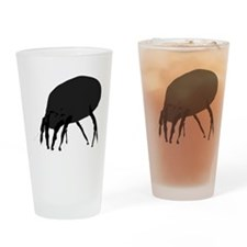 House Dust Mite Drinking Glass