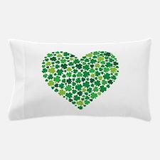 Irish Shamrock Heart - Pillow Case