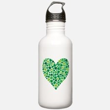 Irish Shamrock Heart - Stainless Water Bottle 1.0l