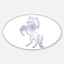 Silver Stallion Decal