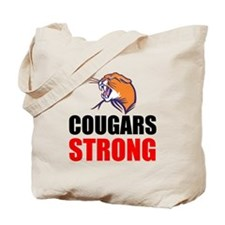 Cougars Strong Tote Bag