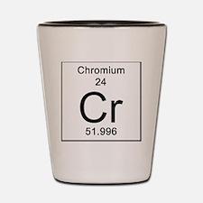 24. Chromium Shot Glass
