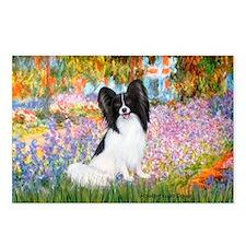 Garden & Papillon Postcards (Package of 8)