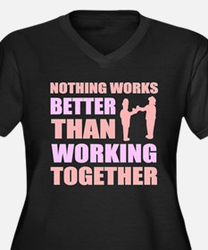Togetherness Plus Size T-Shirt