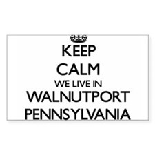 Keep calm we live in Walnutport Pennsylvan Decal