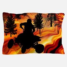 ATV on the Road from Hell.png Pillow Case