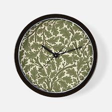 Cute Oak Wall Clock