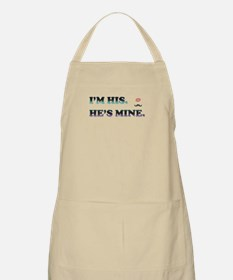 I'm His He's Mine - Mustache Kiss Apron
