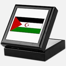 Western Sahara Flag Keepsake Box