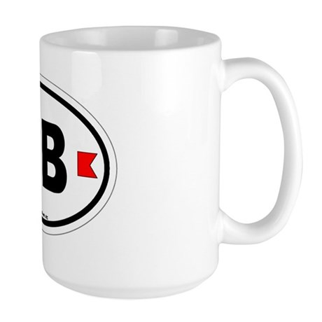 Carolina Beach Large Mug