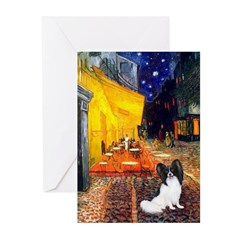 Cafe & Papillon Greeting Cards (Pk of 10)