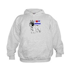 Funny French bulldog terrier Hoodie